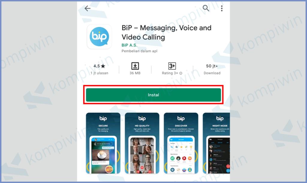 Install Aplikasi BIP