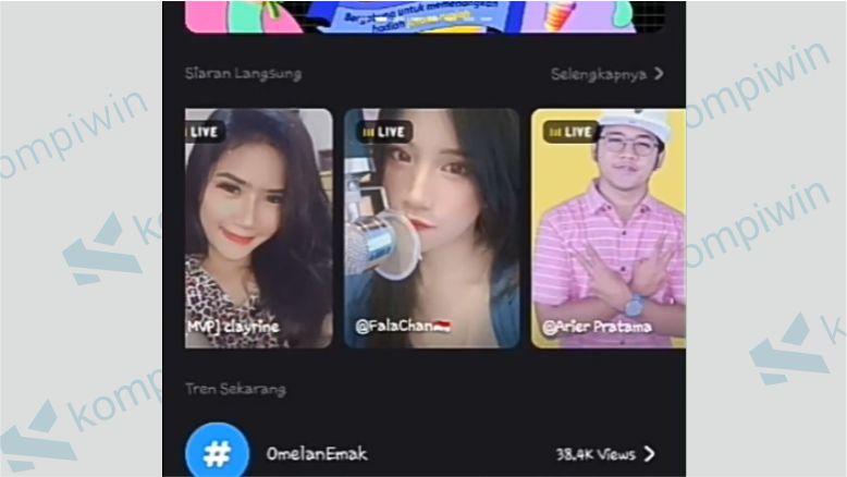 Live Streaming di Snack Video - Cara Live Streaming di Snack Video
