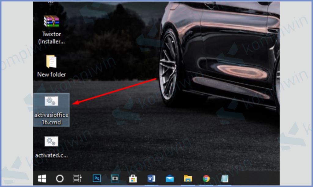 New Document Akan Berubah Dan Ada Di Tampilan Desktop