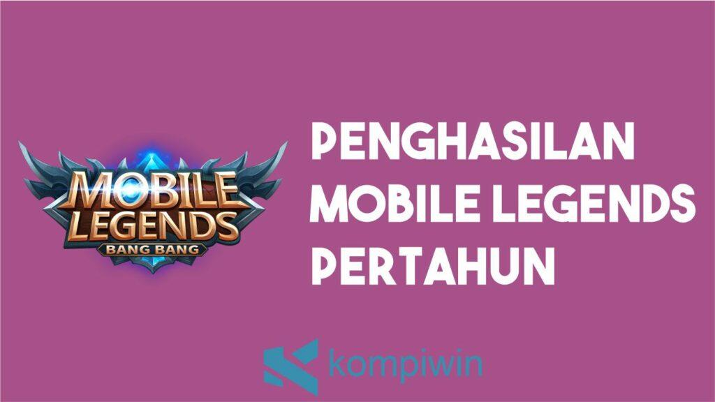 Penghasilan Mobile Legends Pertahun