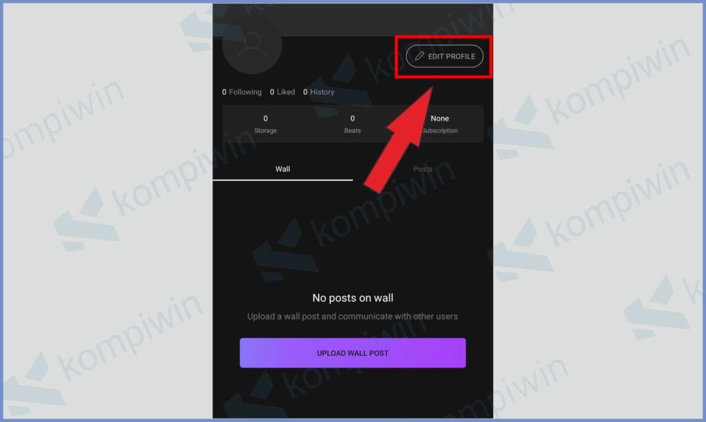 Silahkan Edit Dan Lengkapi Informasi Akun Kamu