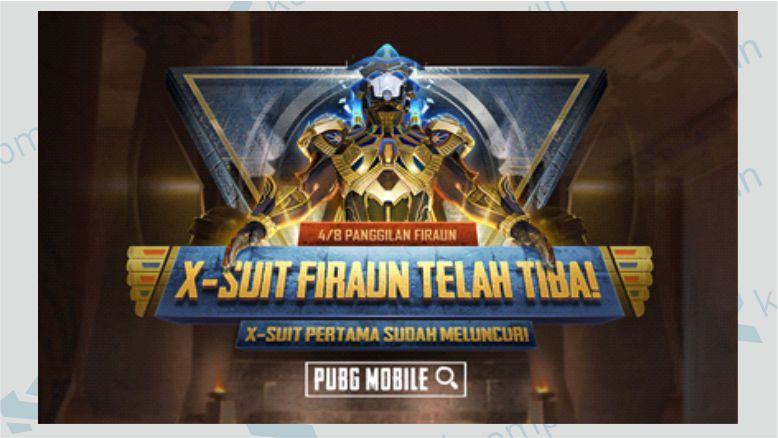 X-Suit Firaun Emas - Skin Termahal di Game PUBG