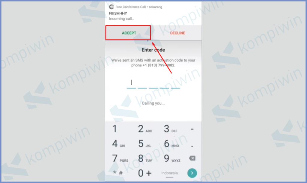Angka Telfon Untuk Mendengarkan Kodenya