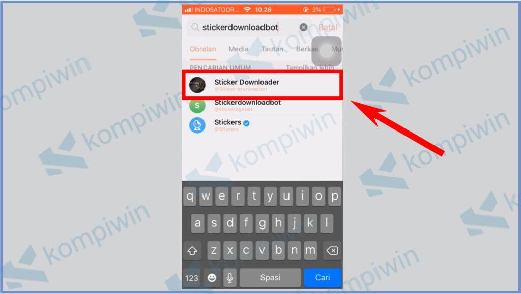 Cara Mengubah Stiker Telegram Menjadi Foto 6