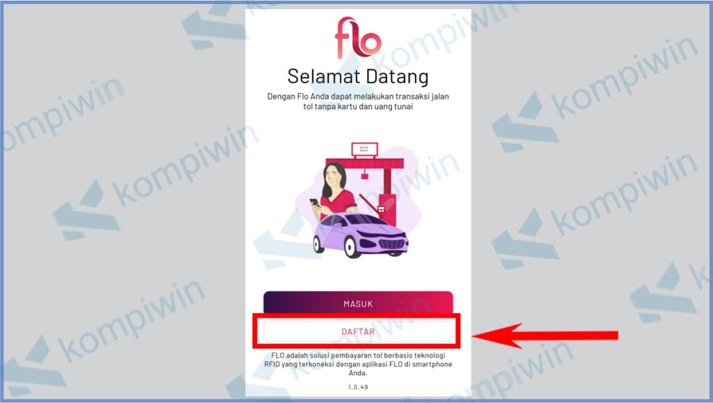 Cara Mendapatkan Stiker RFID Flo 8