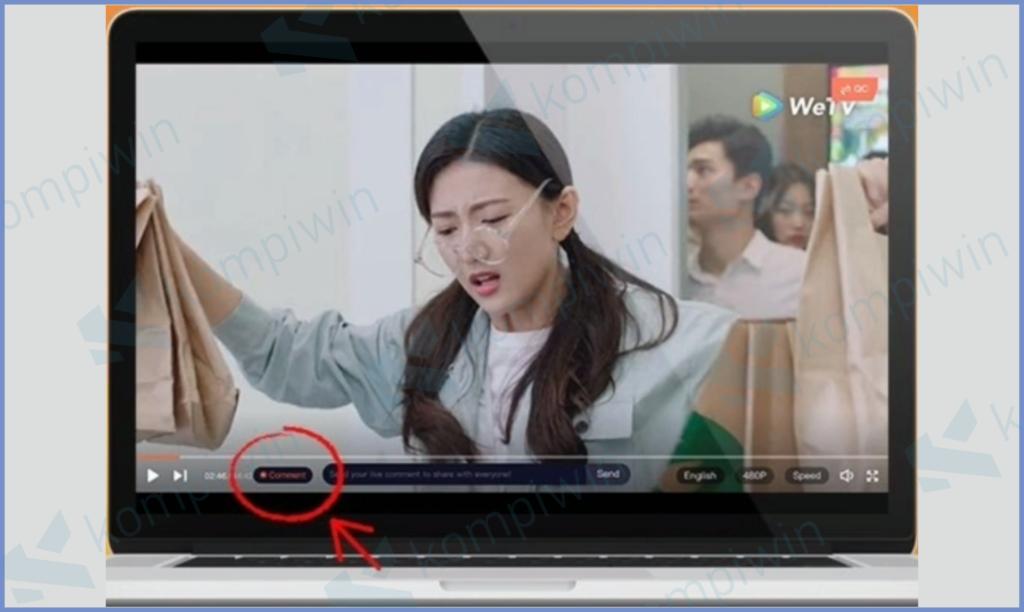 Cara Menghilangkan Komentar Di WeTV 4