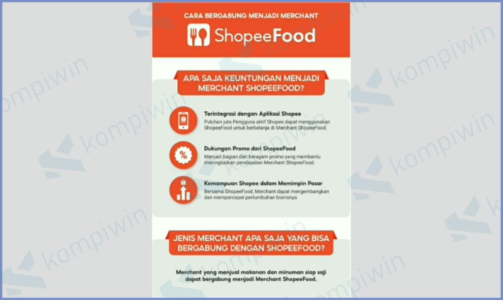Syarat Merchant Shopee Food