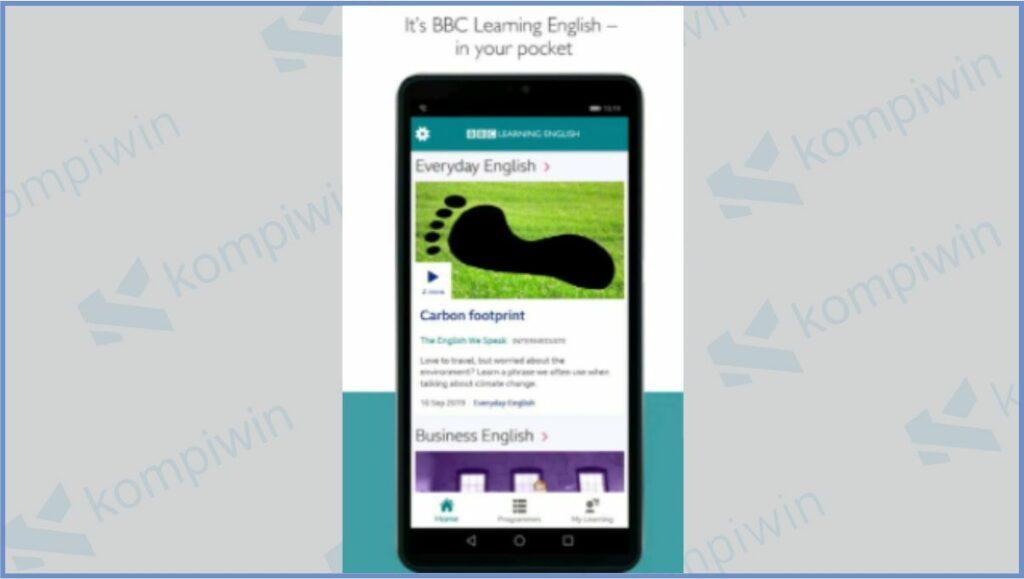 BBC Learning English - Aplikasi Belajar Bahasa Inggris Gratis