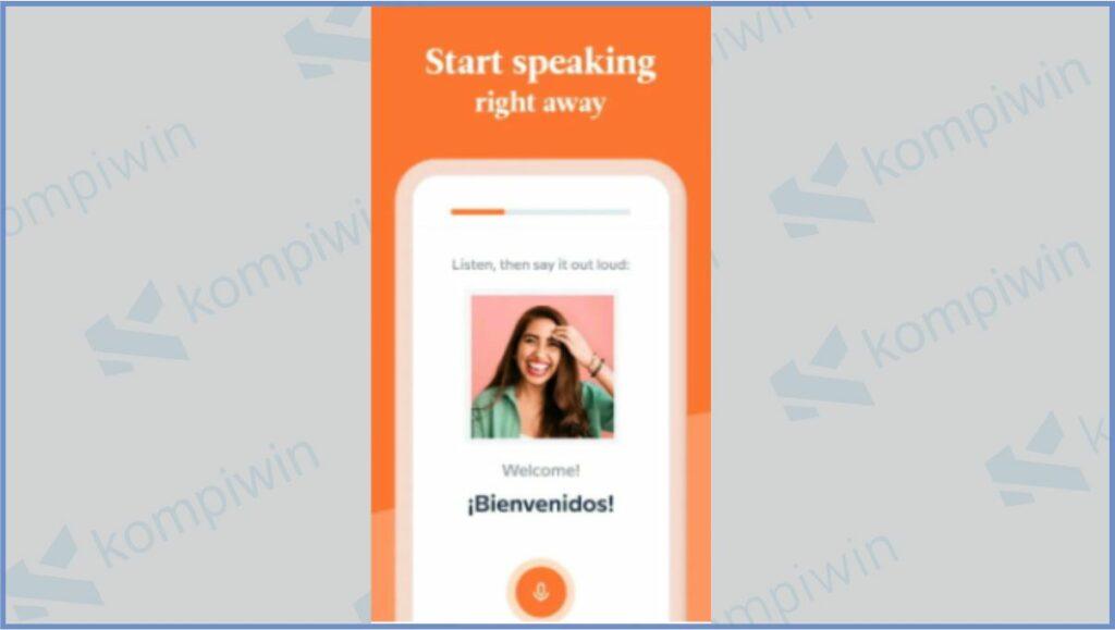 Babbel - Aplikasi Belajar Bahasa Inggris Gratis
