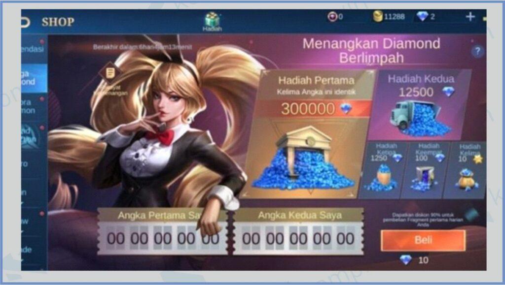 Beli Fragmen - Kode Mega Diamond ML 2021