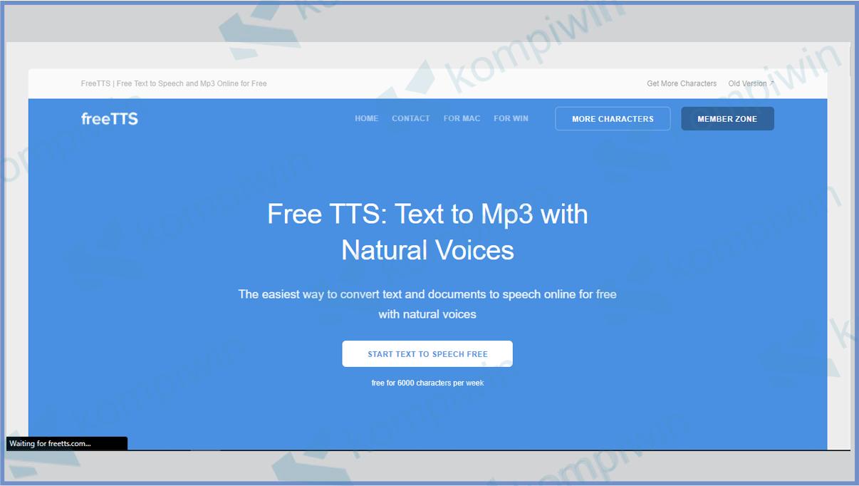 Freetts Voice Names WhatsApp 12