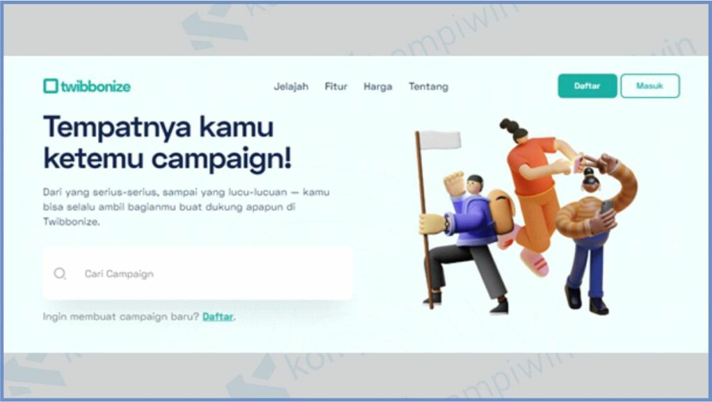 Buka Situs Twibbonize - Cara Mendapatkan Twibbon Hari Kartini