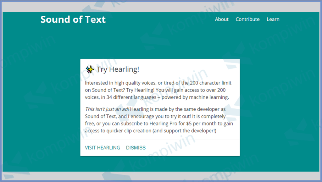 SoundofText Jawa: Cara Membuat Audio Bahasa Jawa 7