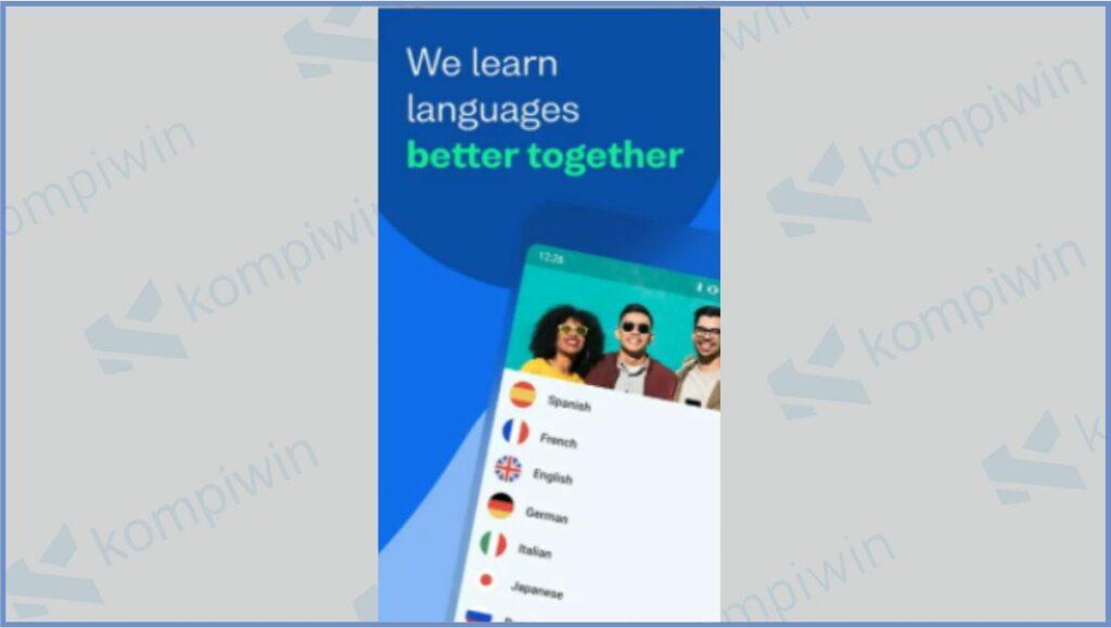 Busuu - Aplikasi Belajar Bahasa Inggris Gratis