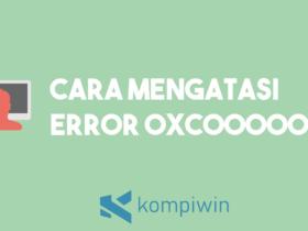 Cara Mengatasi Error 0xc00000e9 6