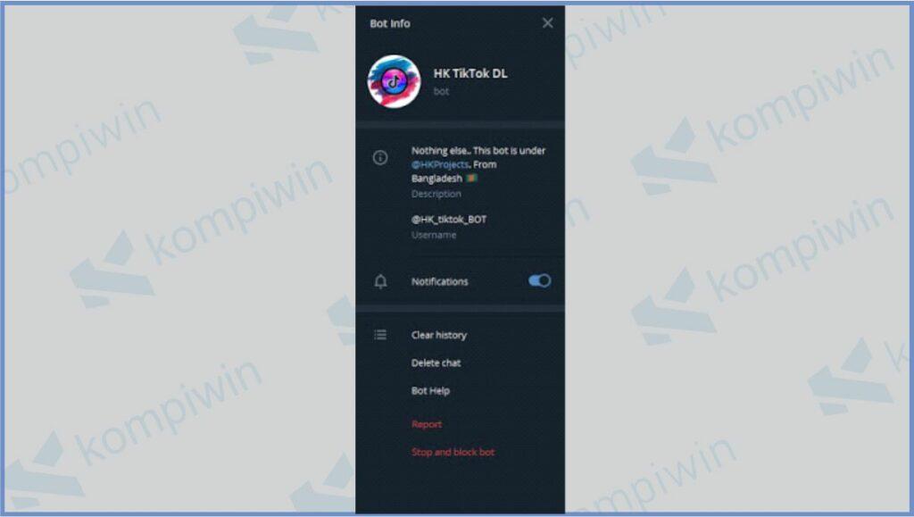Cari HK_tiktok_BOT - Bot HK TikTok DL