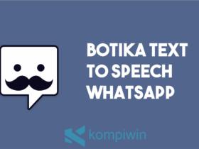 Botika Text To Speech Whatsapp
