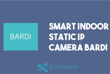 Smart Indoor Static IP Camera Bardi