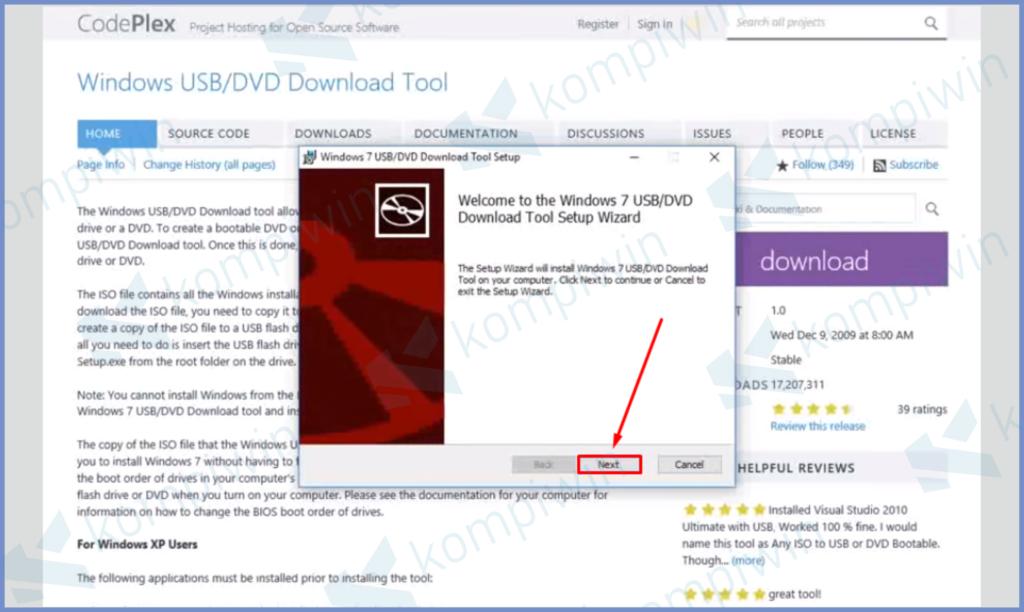 Download Windows USB Tools