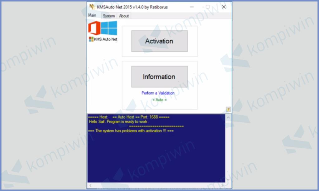 KMSAuto Net Windows 10