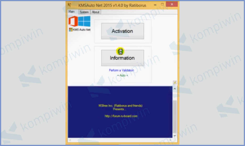 KMSAuto Net Windows 8.1