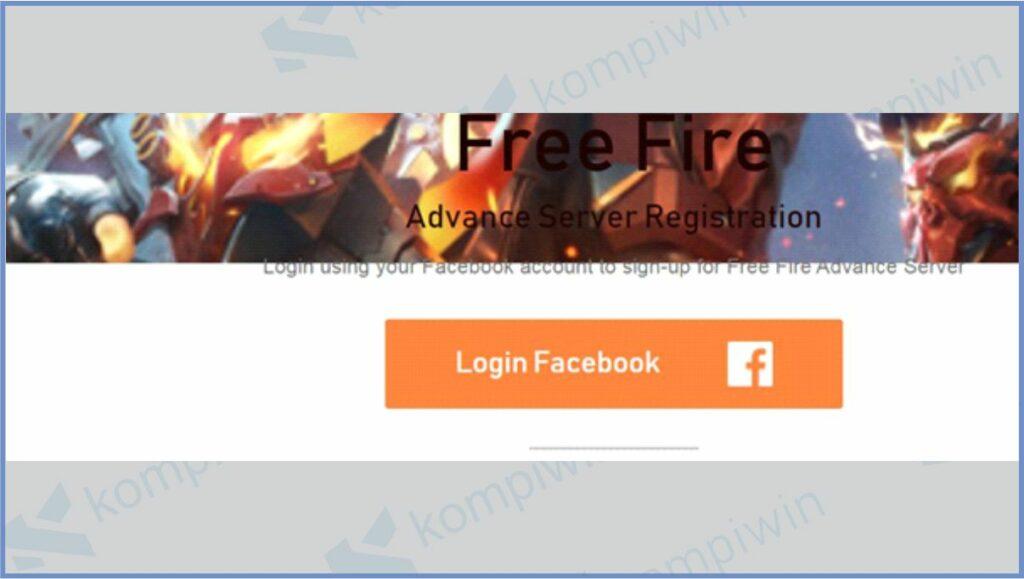 Login ke Akun Free Fire - Kode Aktivasi Advance Server FF (Free Fire)