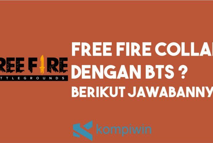 Penjelasan Collabs Free Fire dan BTS
