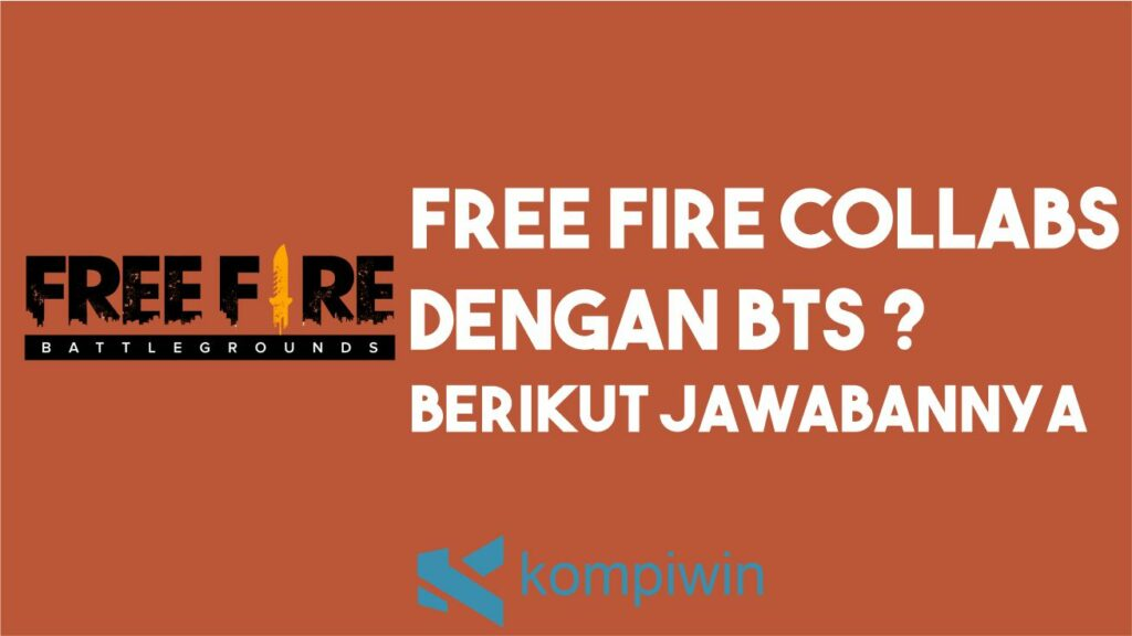 Penjelasan Collabs Free Fire dan BTS
