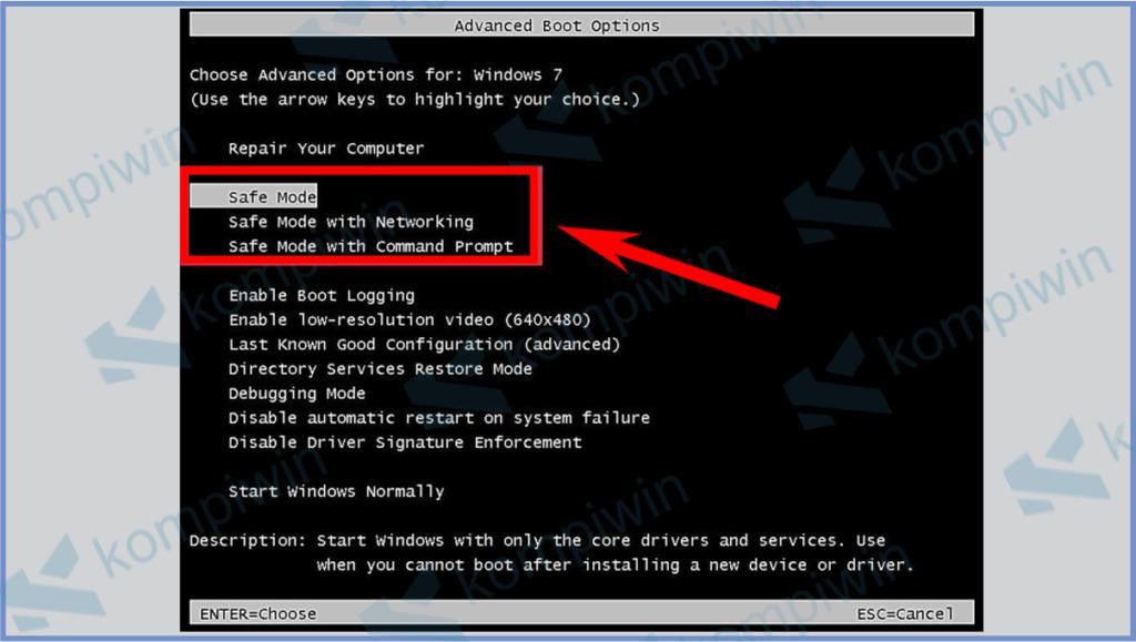 Cara Masuk Windows Safe Mode