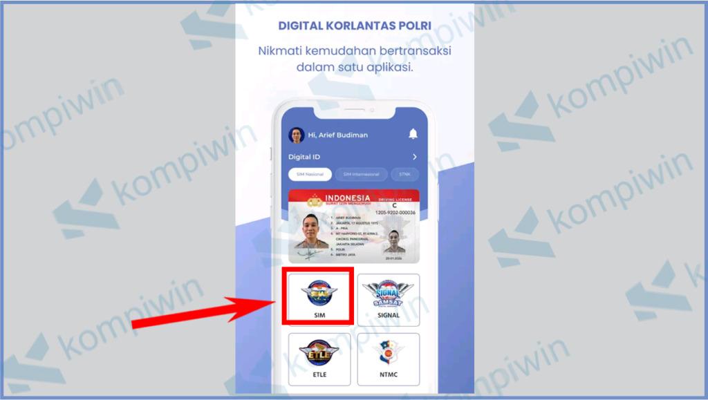 Aplikasi Sinar SIM Nasional Presisi 18