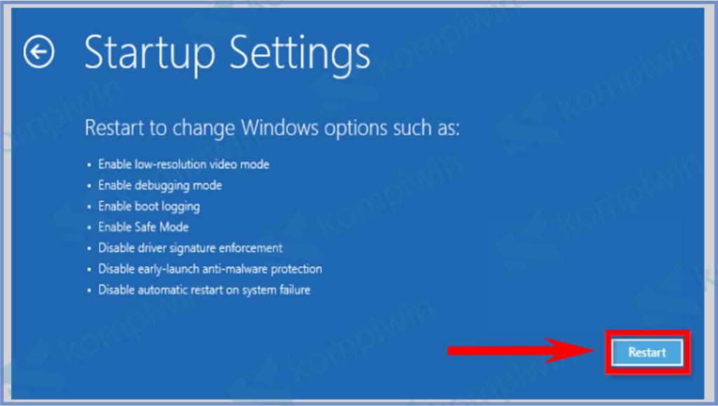 Cara Masuk Safe Mode Di Windows 7, 8, 8.1, 10 21
