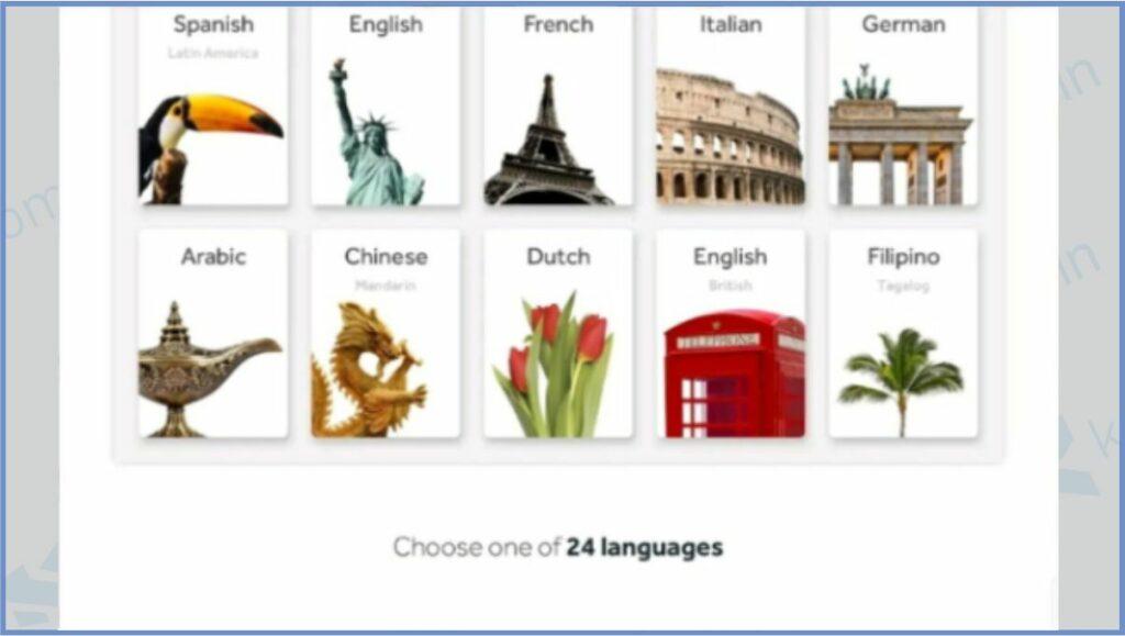 Rosetta Stone - Aplikasi Belajar Bahasa Inggris Gratis