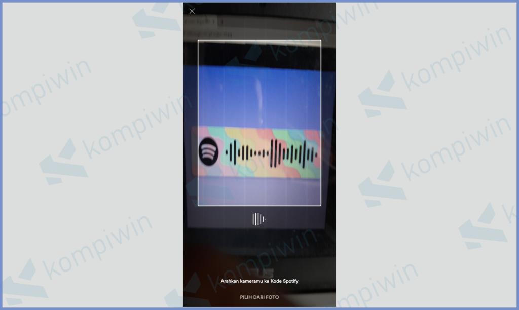 Scan Barcode Spotify
