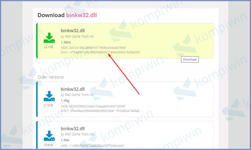 Silahkan Download File Versi Terbaru