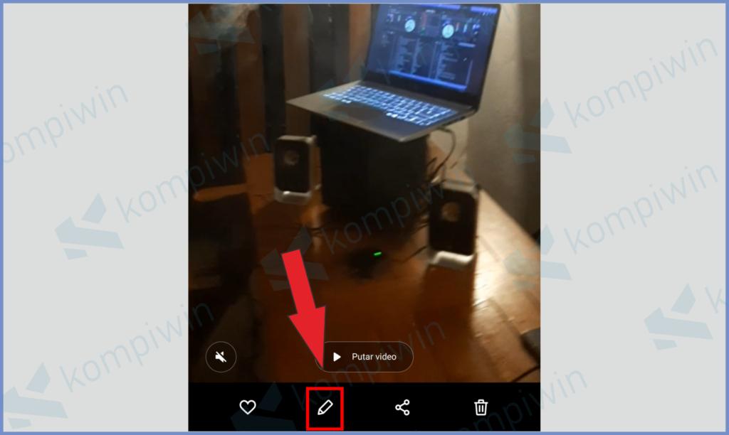 Tap Icon Edit Video