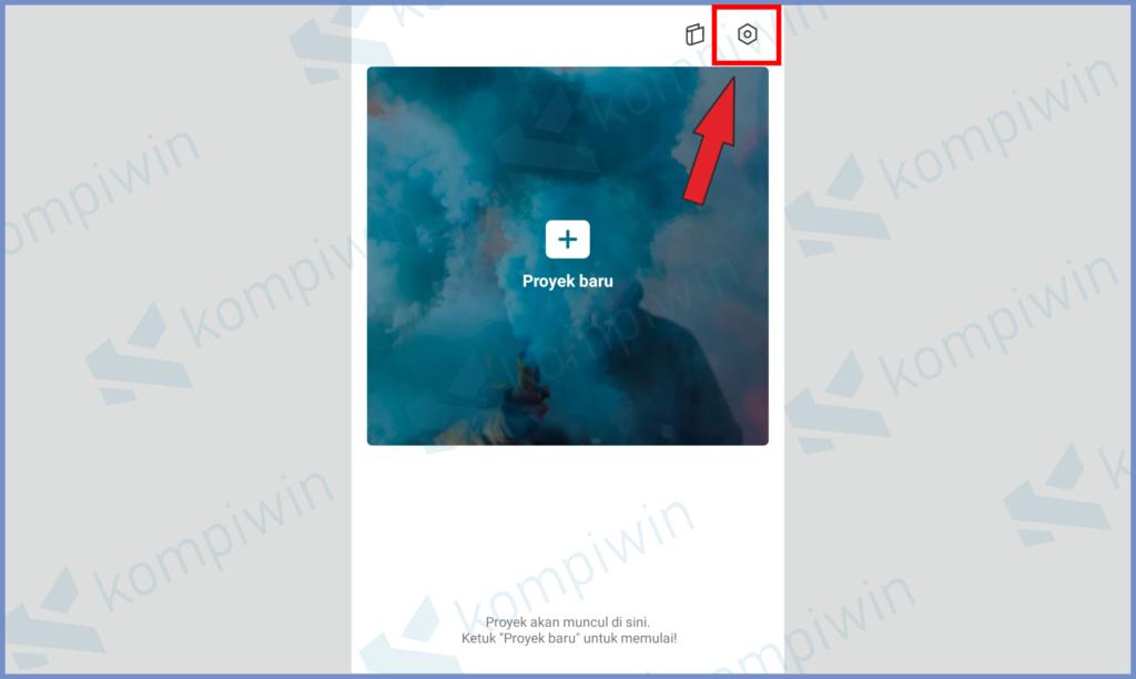 Tap Icon Pengaturan