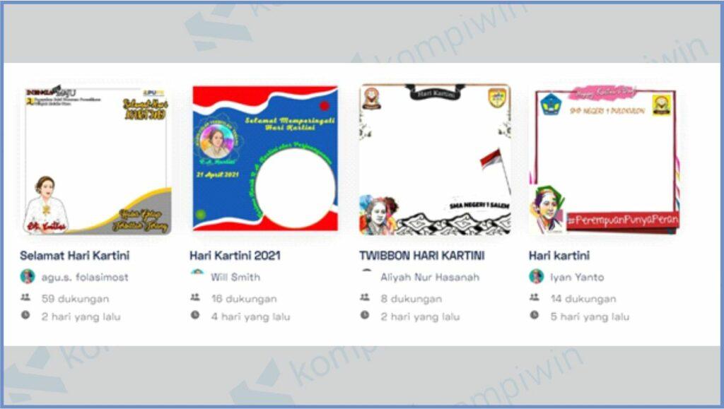 Twibbon Hari Kartini - Cara Mendapatkan Twibbon Hari Kartini