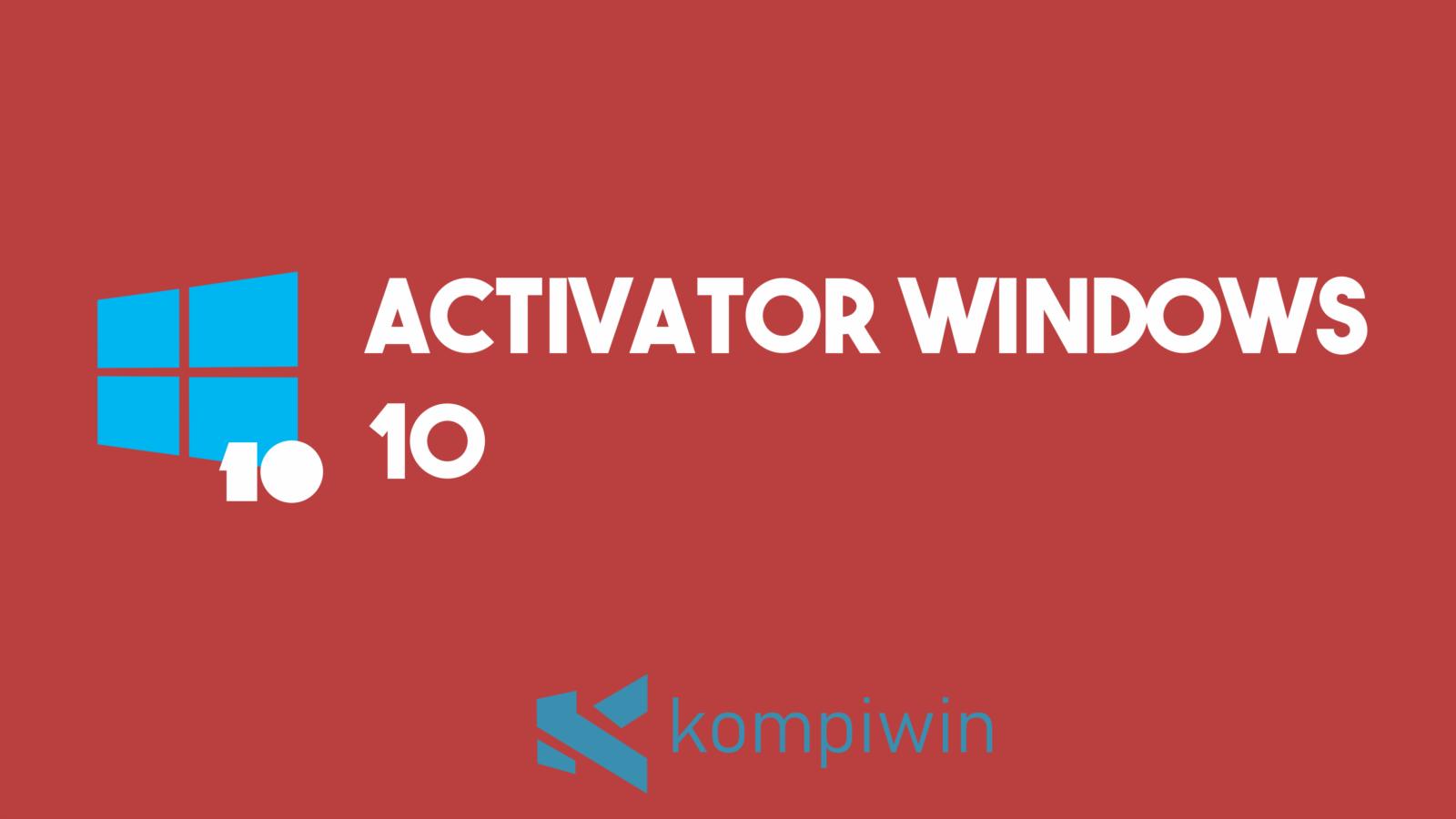 Activator Windows 10 1