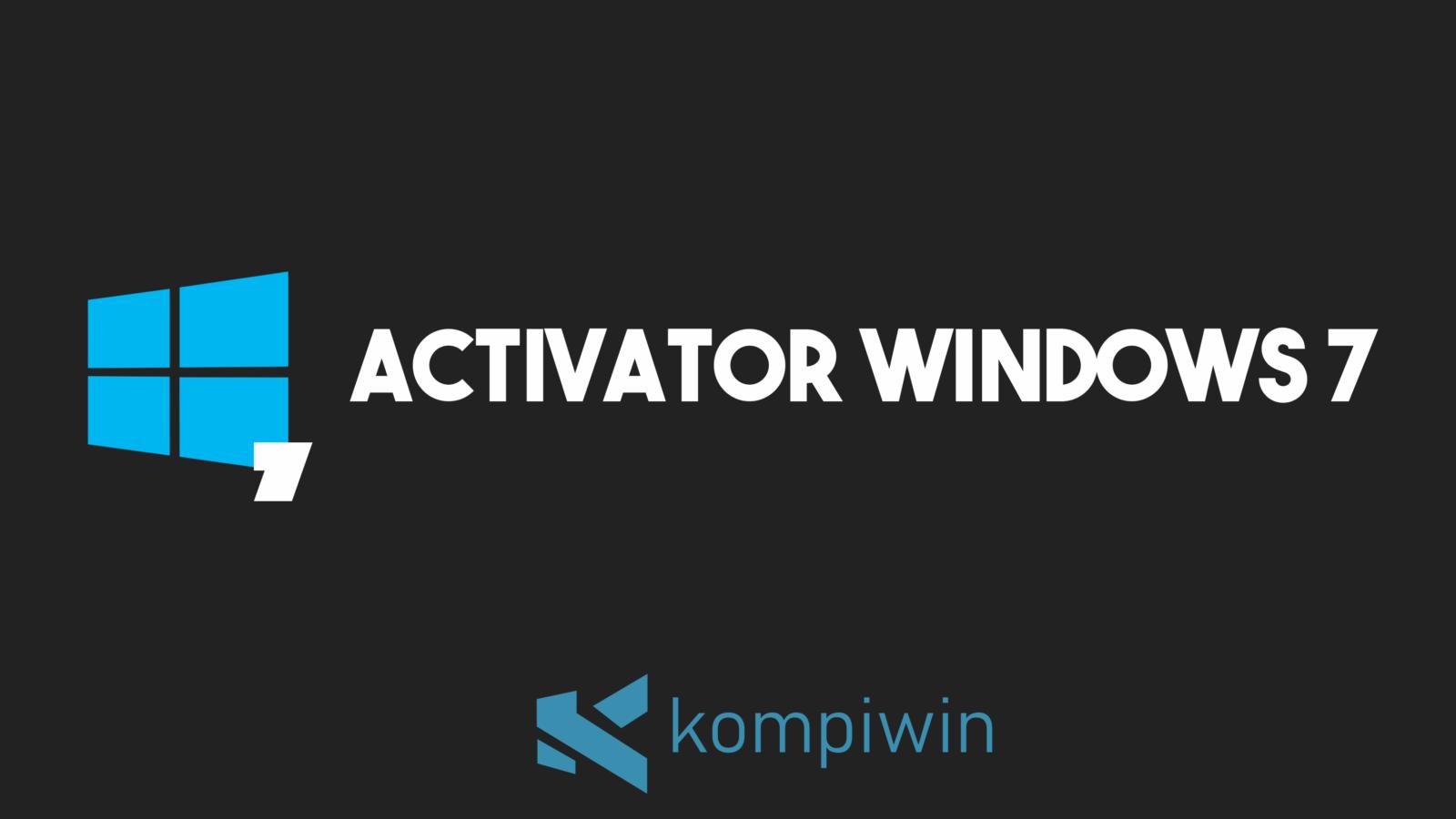 Activator Windows 7 4