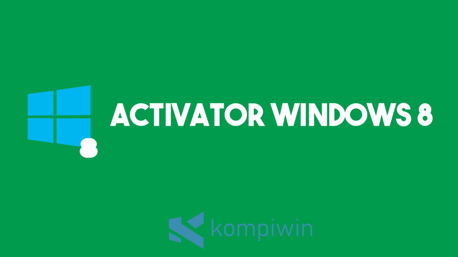 Activator Windows 8 1