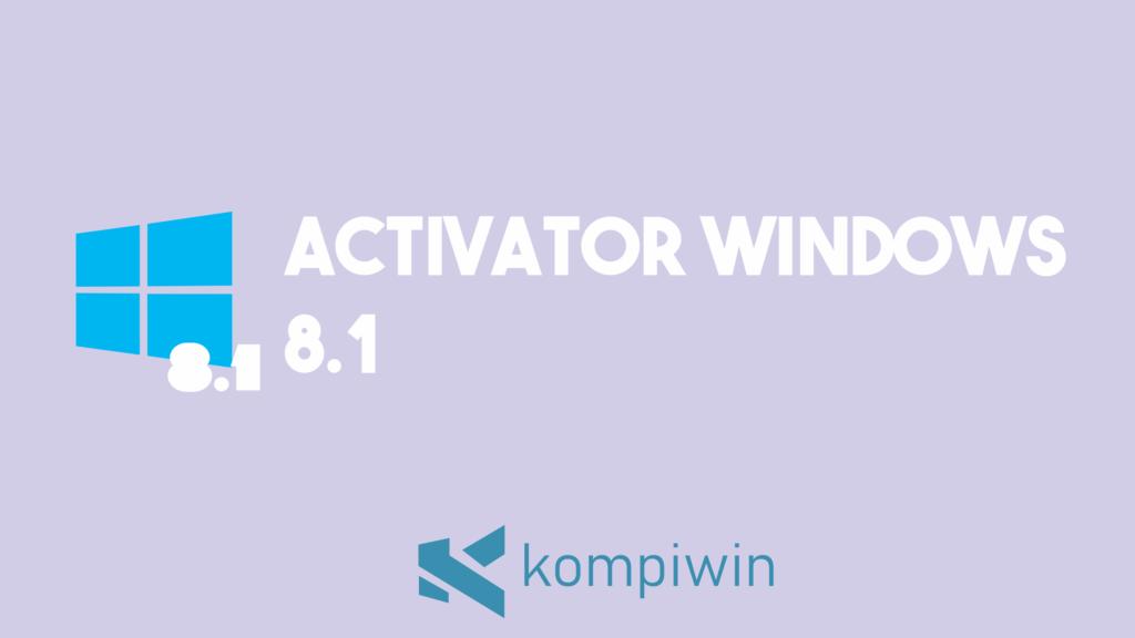 Activator Windows 8.1 2