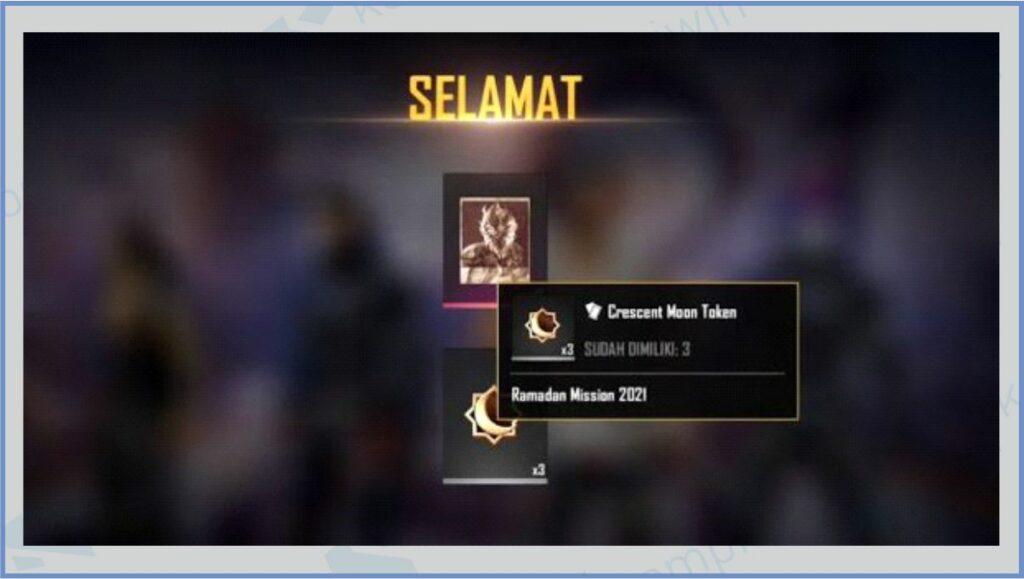 Aftermatch Drop - Cara Mendapatkan Super Crescent Moon Token
