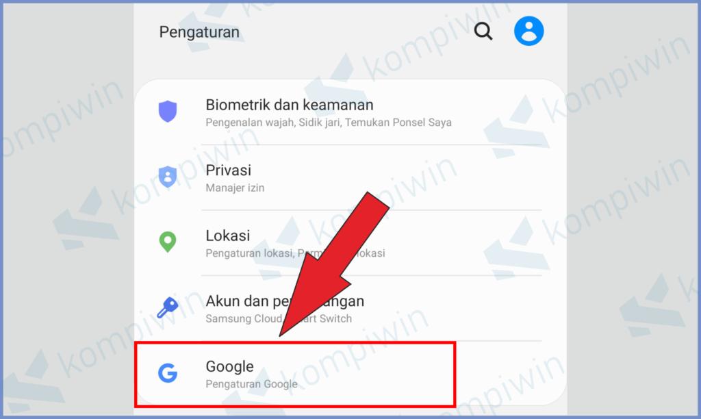 Buka Menu Google