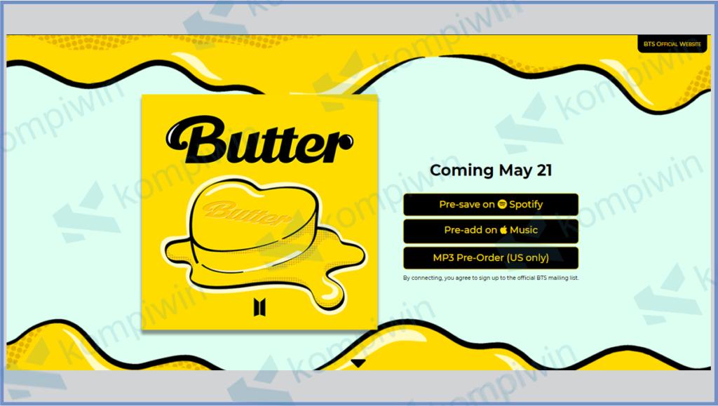 BTS Butter Com: Cara Buat Butter Card Dengan Nama Sendiri 14