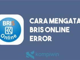 Cara Mengatasi BRIS Online Error