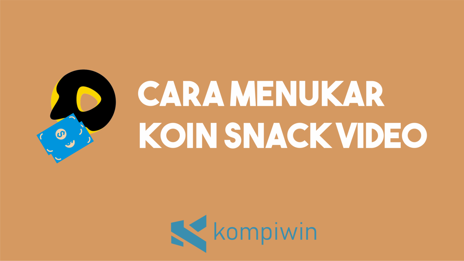 Cara Menukar Koin Snack Video 4