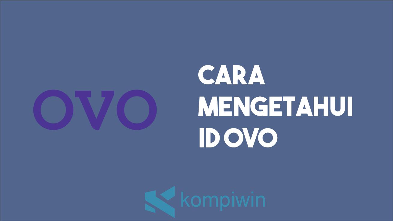 Cara Mengetahui ID OVO 5