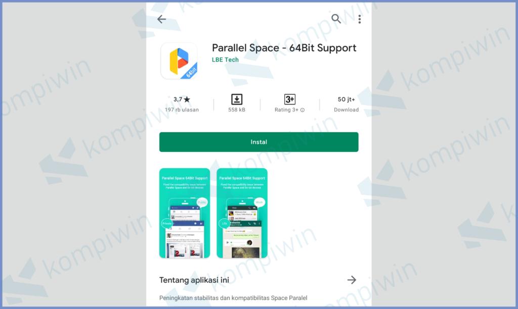 Download Parallel Space 64 Bit