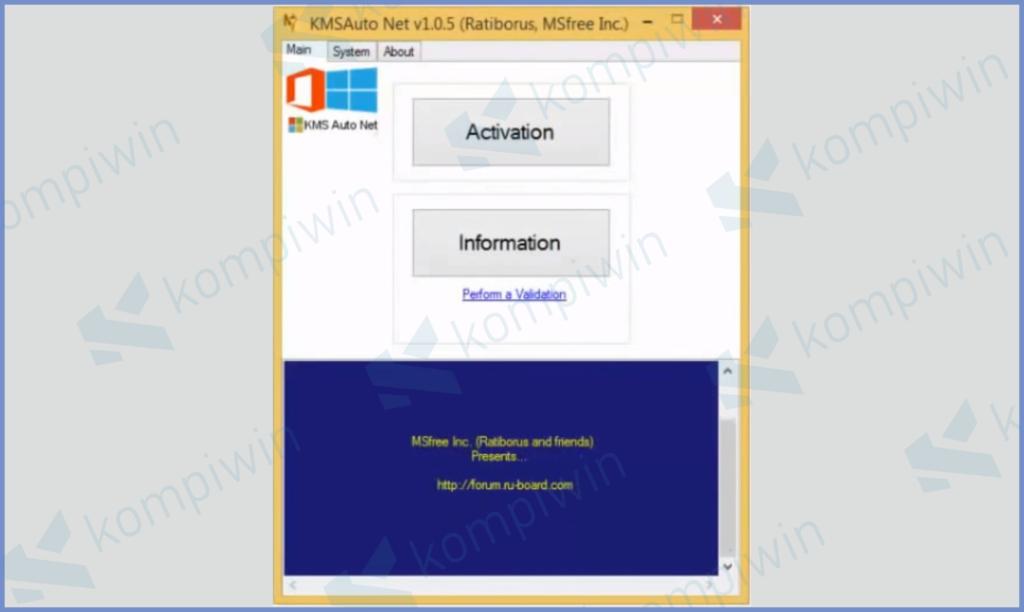 KMSAuto Net Windows 8