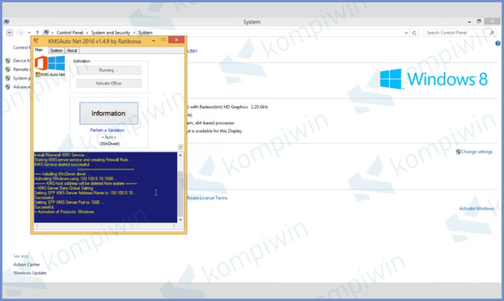 KMSAuto Windows 8.1